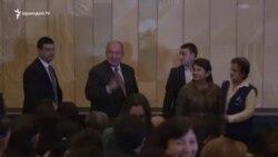Նախագահ Սարգսյան․ Իմ ընկերներին և դրսից եկած իմ հյուրերին բերելու եմ Գյումրի
