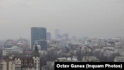 Smog în București, 2 martie 2020, ziua în care toți indicatorii privind calitatea aerului au ajuns pe roșu
