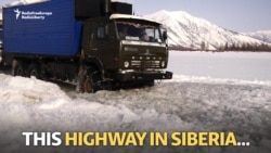 Riding Siberia's Ice Highway