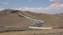 Türkiyə İranla sərhədi beton sədlə bağladı
