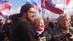 В Севастополе празднуют третью годовщину аннексии Крыма (видео)