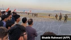 Кабулдун аэропорту. 16-август, 2021-жыл.
