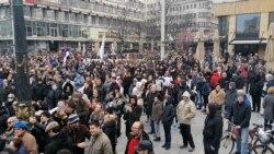 Protest u Beogradu i širom Evrope protiv COVID-19 i vakcina