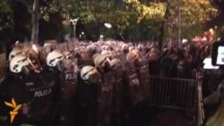 Столкновения в Черногории в ходе антиправительственной демонстрации