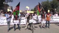 Thousands Of Afghan Hazara Protest Over Power Line Route