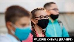 Nxënësit në Kosovë, shtator 2020.