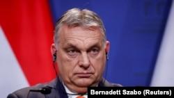 Orbán Viktor Budapesten, 2021. április elsején.