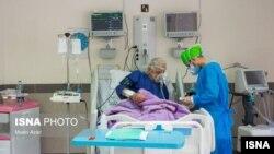 ایران کې د په کرونا ویروس اخته ناروغ