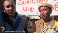 У Києві буддисти розпочали марш миру