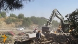 Turkmenistan Reduces Suburbs To Rubble