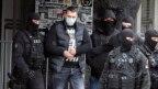 Osumnjičeni Veljko Belivuk prilikom hapšenja, 4. februara u Beogradu 2021