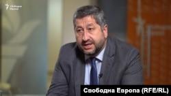 """Съпредседателят на """"Демократична България"""" Христо Иванов"""