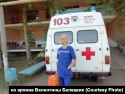 Фельдшер скорой помощи Валентина Белецких