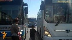Нарушения ПДД водителями автобусов