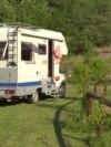 Porodični kamp kod Cetinja: Strani turisti ponovo su tu