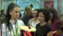 Olimpijke se vratile u Beograd