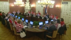 Croatia Cabinet Meets In Soccer Team Jerseys After Semifinal Win