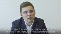 V. Negrescu: M-am întâlnit neoficial cu liderii PES la Sibiu, premierul a vorbit la telefon