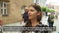 Ansbach Residents Unsettled After Blast