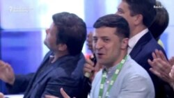 Zelenskiy Celebrates And Wants A 'New Face' For Prime Minister