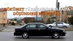 Türkmenistanda bir aýlap gara ulaglar 'awlanýar'