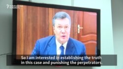 Yanukovych Wants To 'Establish The Truth' About Euromaidan Deaths