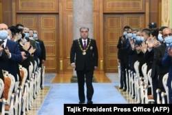 Инаугурация Эмомали Рахмона в Душанбе. 30 октября 2020 года.