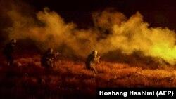 آرشیف، نیروهای امنیتی افغانستان در جریان یک عملیات نظامی