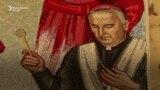 Uklonjen mural američkog kardinala u prištinskoj katedrali