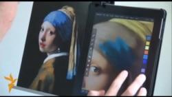 Японський художник відтворює відомі твори мистецтва на своєму IPad