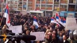 Mitrovica: Protest podrške Ivanoviću
