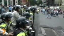 Венесуэлада намойишчилар кўздан ëш оқизувчи газ билан ҳайдалди
