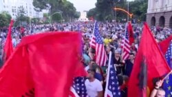 Protest opozicije u Tirani