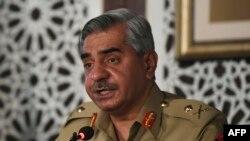 دا خبره د پاکستاني پوځ د عامه اړیکو څانګې - ای اېس پي ار - ویاند میجر جنرل بابر افتخار د اګست پر ۲۷مه په راولپنډۍ کې خبري غونډې ته کړې ده.