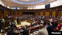 The Armenian parliament in session (archive photo)