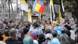 Україна, Луганськ: православно-проросійська хода