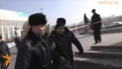 Затрыманьні ў Казахстане