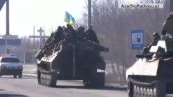 Ukrayna hərbçiləri Debaltsevonu terk edir