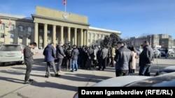 Митинг недовольных положением дел на границе, 5 февраля 2021 г.