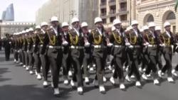 Hərbi kursantların 28 may yürüşü