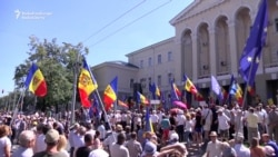 Moldovans Protest Electoral Changes