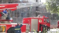 Հրդեհ է բռնկվել Հանրապետական կուսակցության գրասենյակի տանիքում