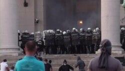 В Сербии продолжаются антиправительственные митинги