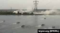 Военные учения НАТО и Украины «Объединенные усилия - 2020», Херсонская область