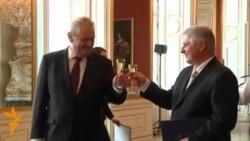Президент Чехії призначив на прем'єра свого союзника