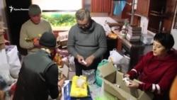 Qırım apiske alınğan Ukraina deñiz askerleri içün yardım toplay (video)