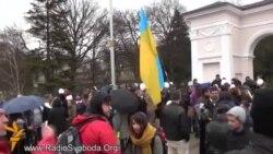 Акція «За мир та єдність України» в Сімферополі