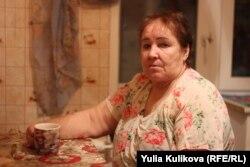 Анна Белорукова, мать погибшего шахтера