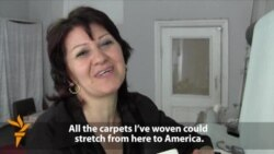 Azerbaijani Carpet Weaver Struggles To Keep Tradition Alive