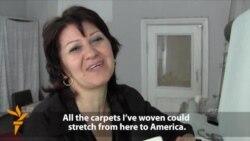 Azerbaijani Carpet Weaver Struggles To Keep Tradition Alive